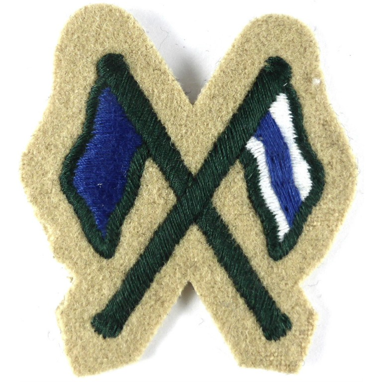 Light Infantry Cloth Trade Sleeve Badge